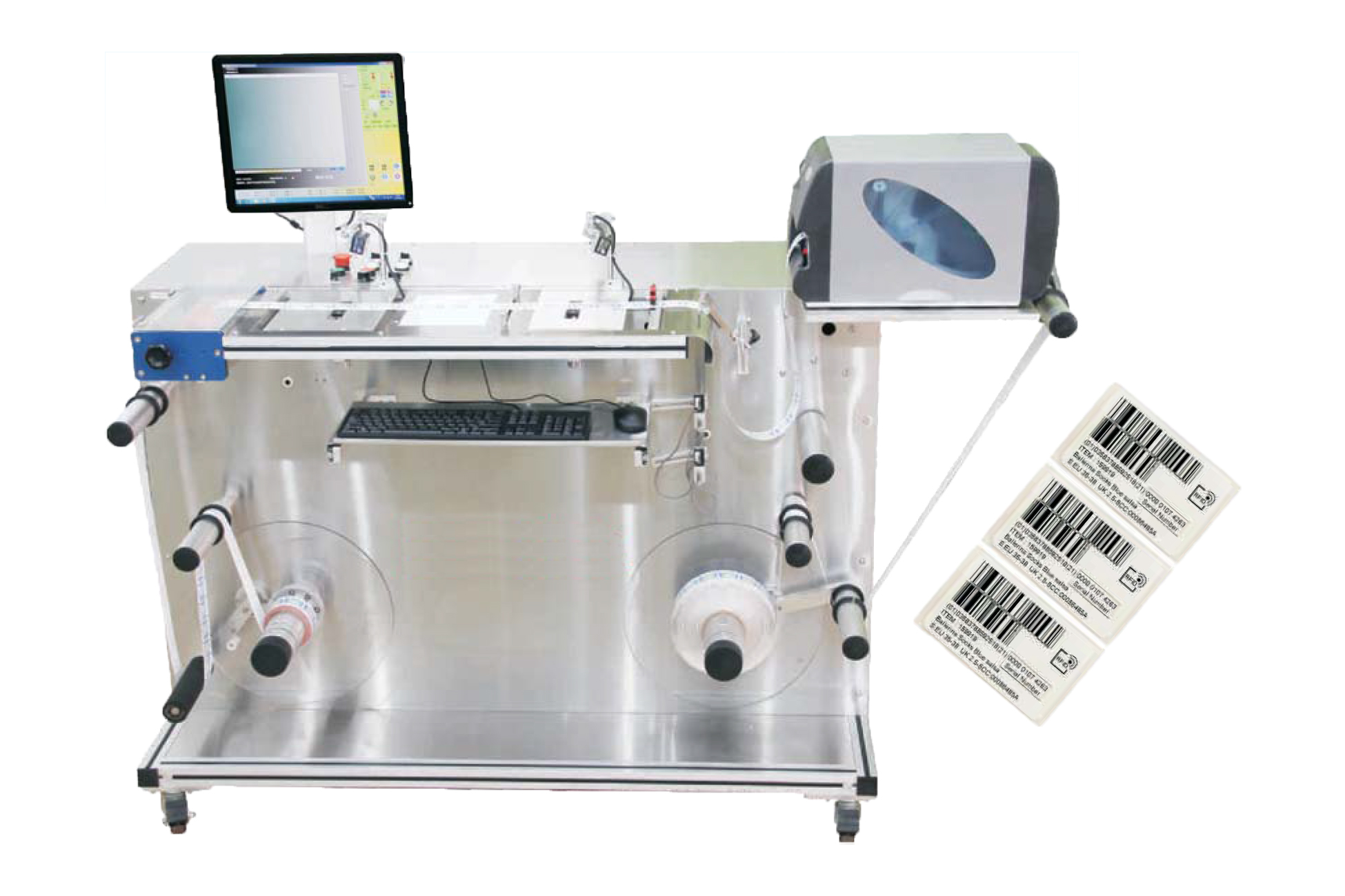 RFID Label Detecting & Encoding Machine RFES-1